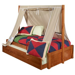 Powell Youth Beds and Bunks Aspen Tent Bed