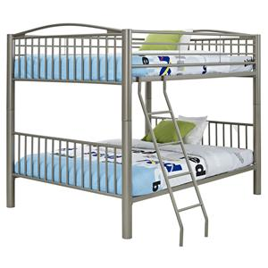 Powell Youth Beds and Bunks Full/Full Bunk Bed