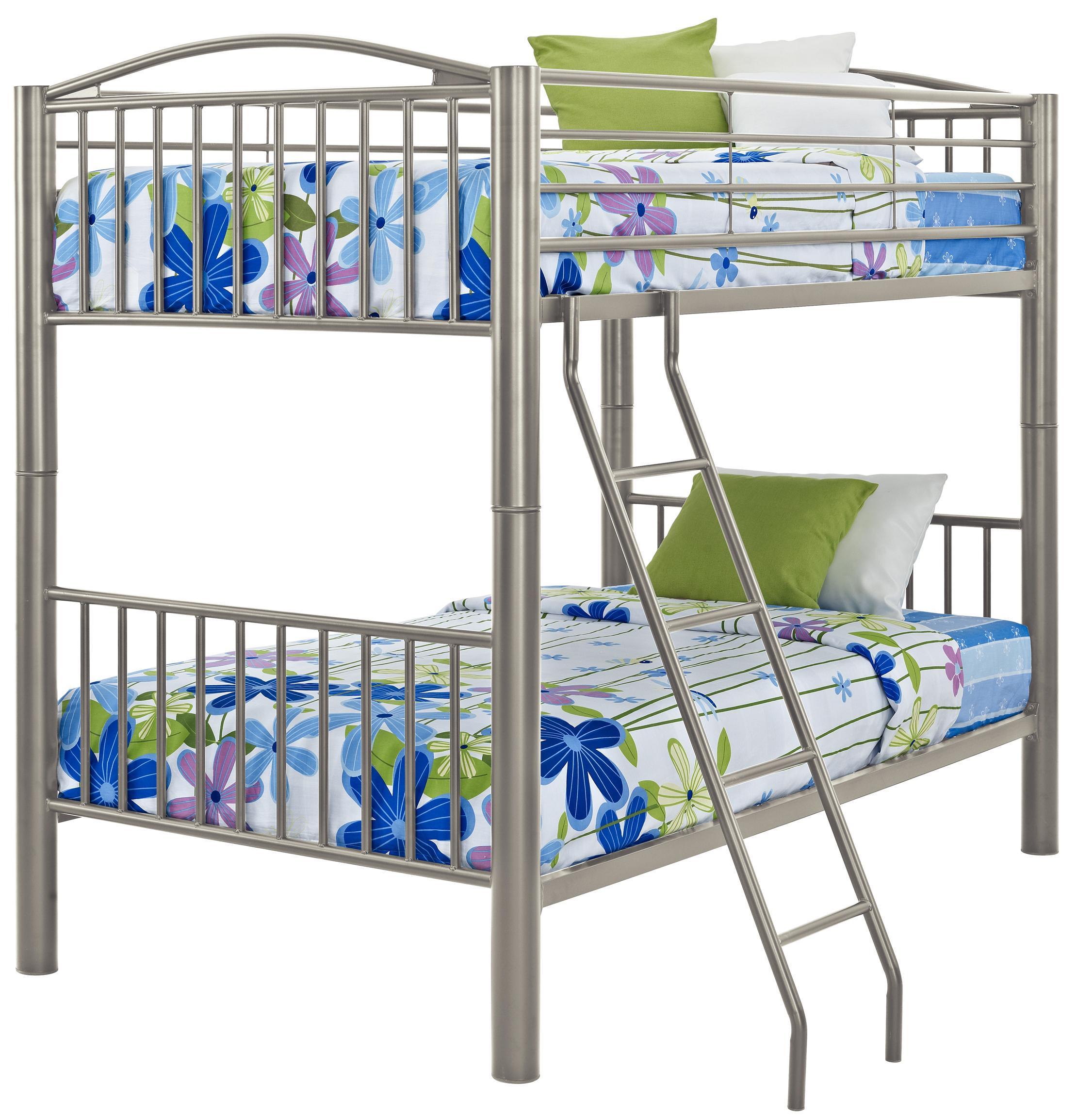 Twin Metal Bunk Bed
