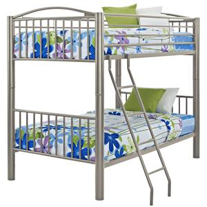 Twin Metal Bunk Bed