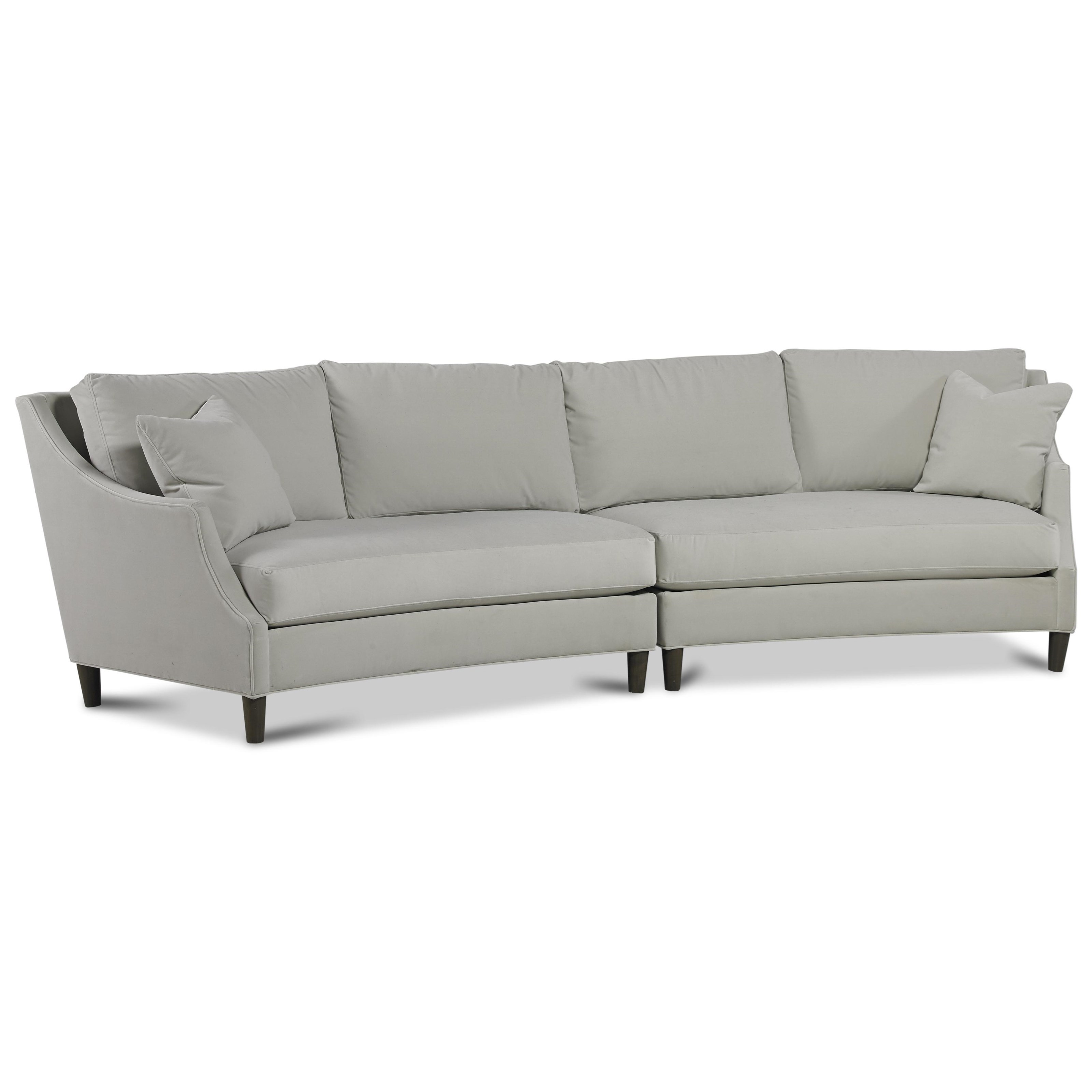 Amanda Sectional by Precedent at Alison Craig Home Furnishings