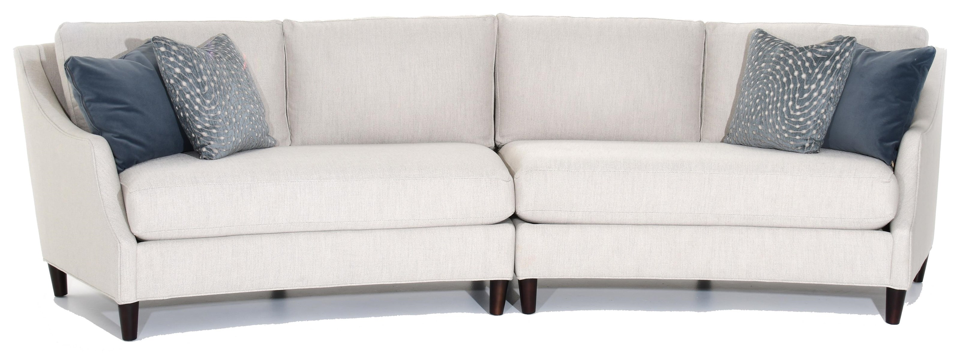 Amanda Sectional by Precedent at Baer's Furniture