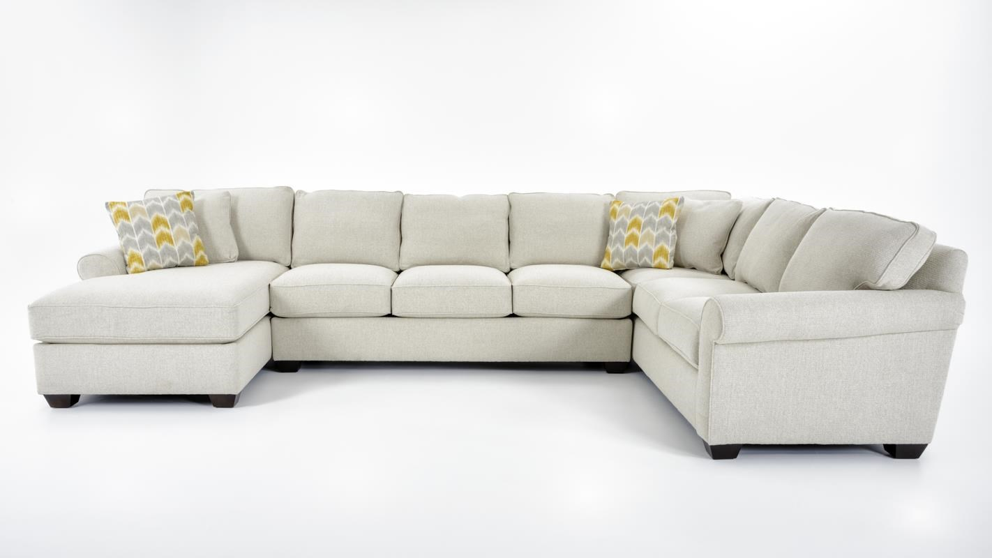 Precedent Multiple Choices 3 Pc Sectional Sofa - Item Number: 7CL-RBWA+7SO-XBWA+7DR-RBWA-QUARTZ I