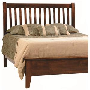 Rotmans Amish Huntington Shaker Queen Slat Headboard