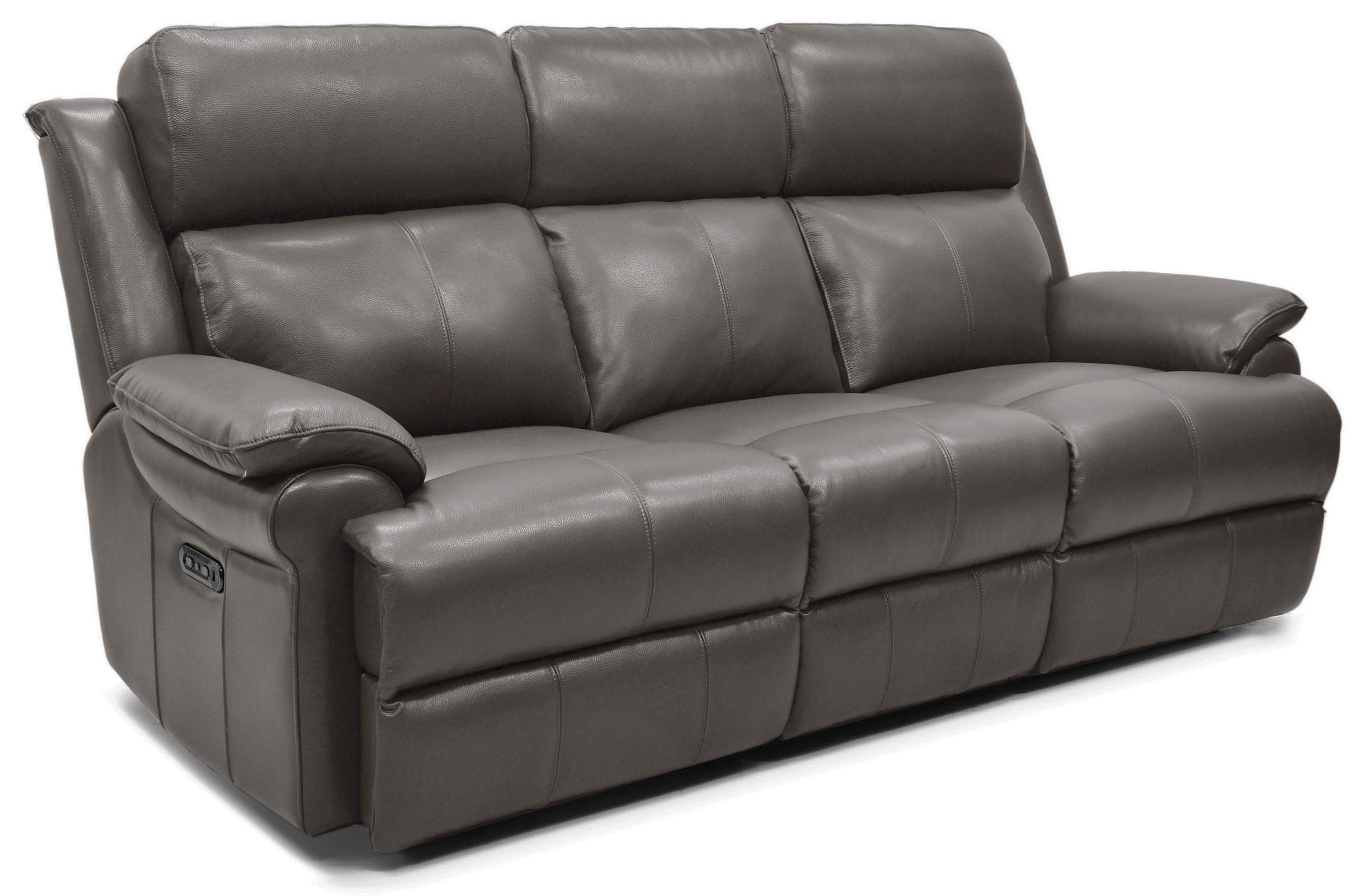 Boynton Power Reclining Leather Sofa at Rotmans