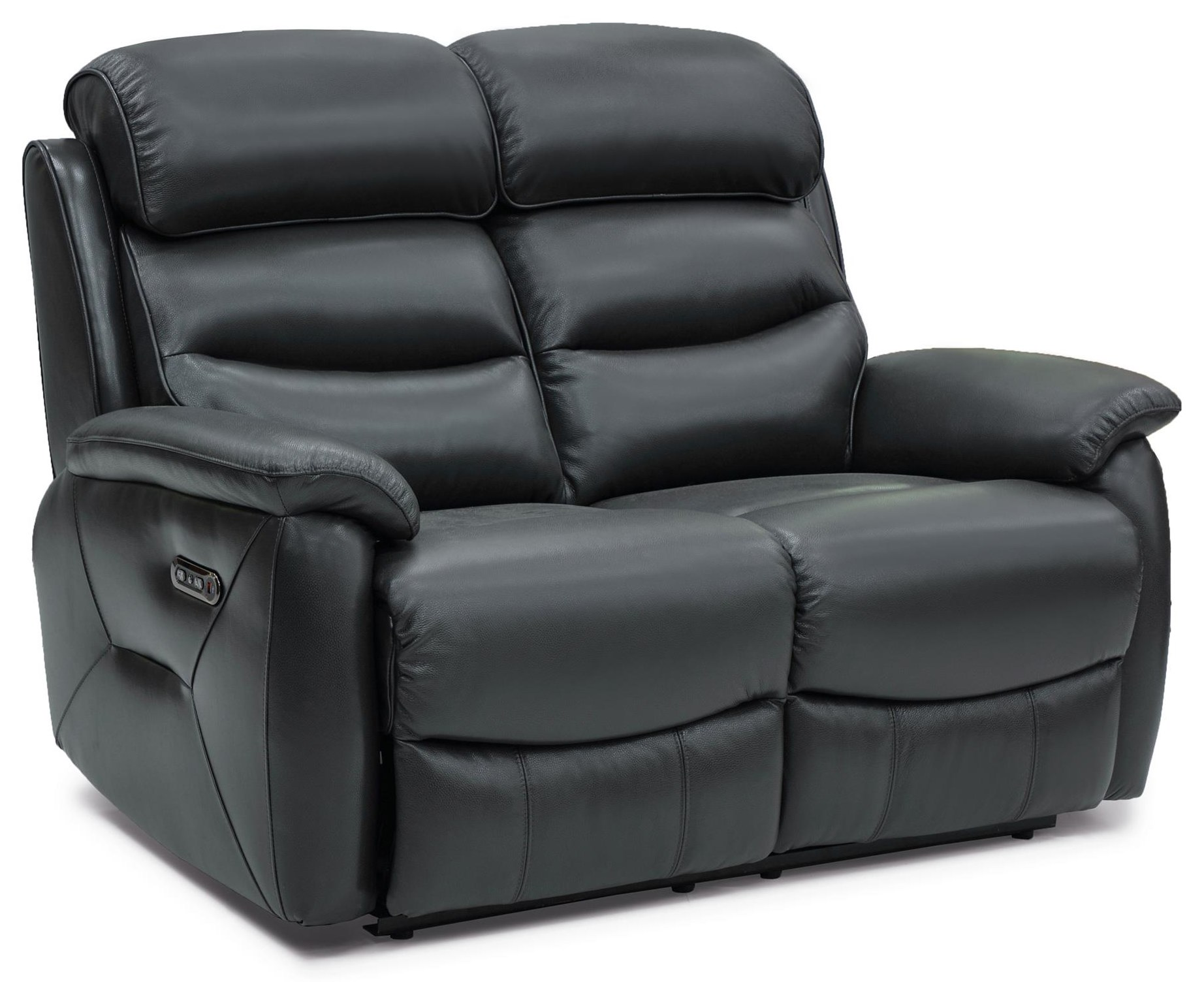 Lucie Power Reclining Leather Loveseat at Rotmans