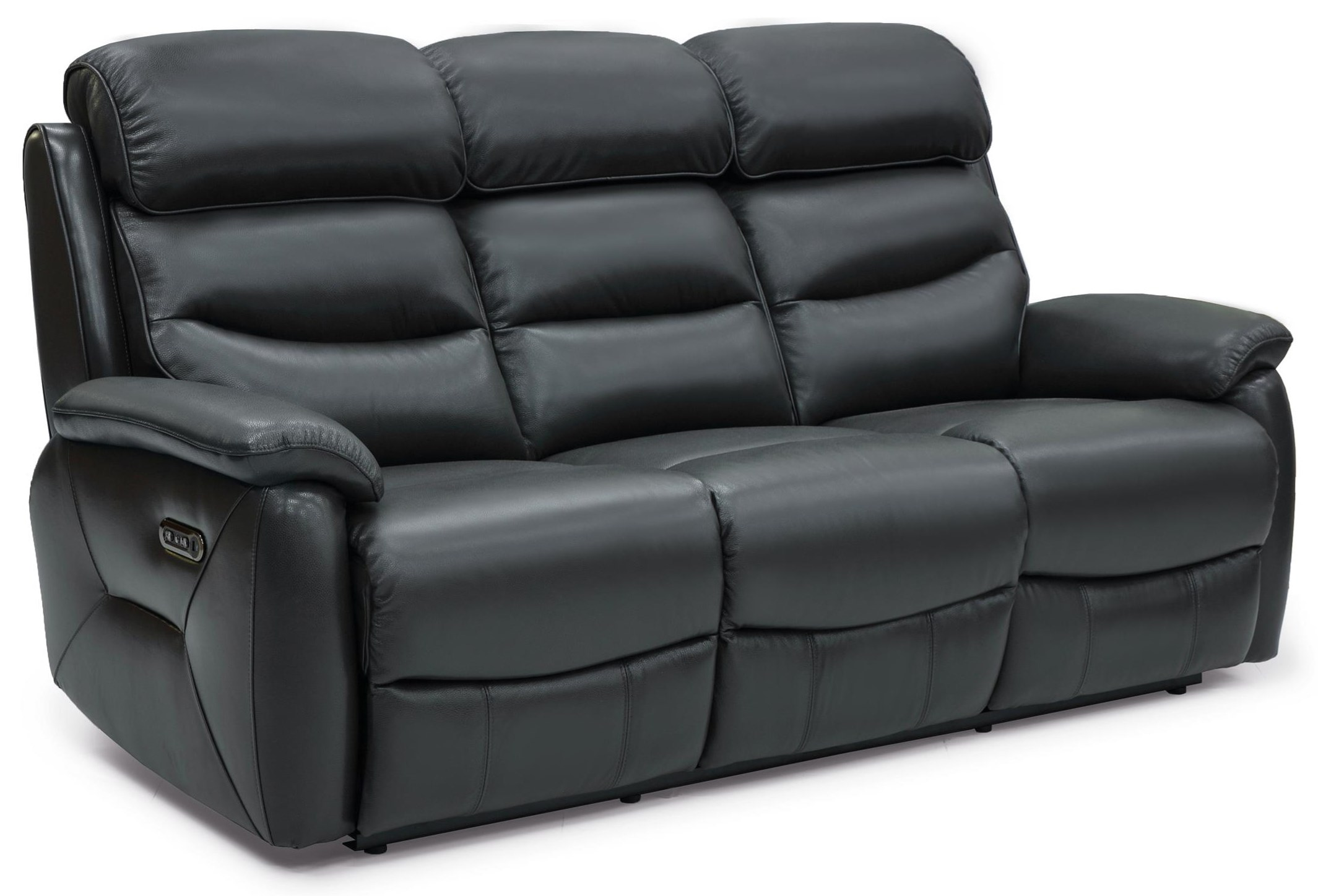 Lucie Power Reclining Leather Sofa at Rotmans