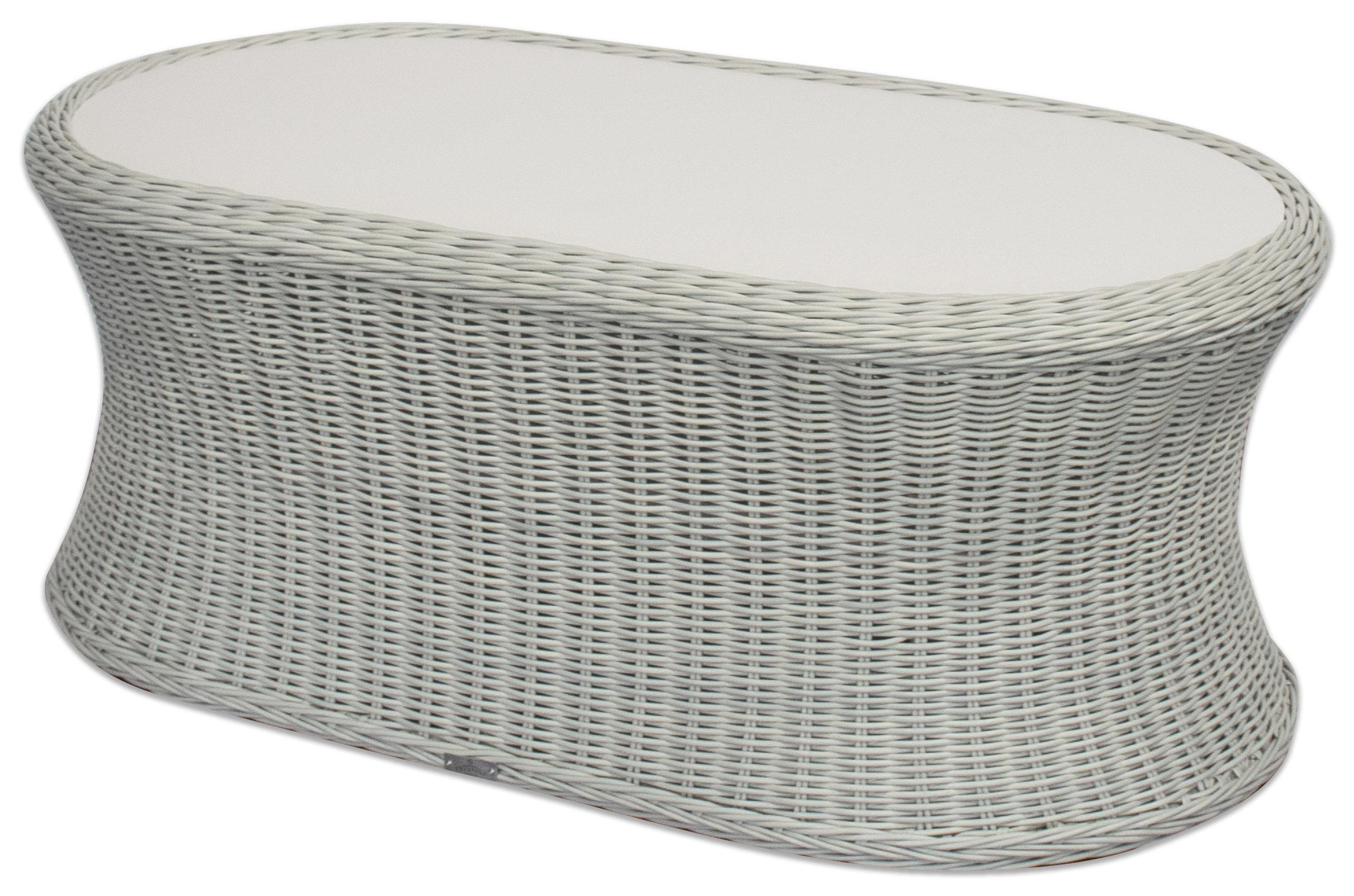 Dover Oval Coffee Table by Prestige at Johnny Janosik