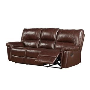 Prime Resources International 2408 Reclining Leather Sofa