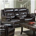Prime Resources International 6500 Console Loveseat - Item Number: 6500-301-507