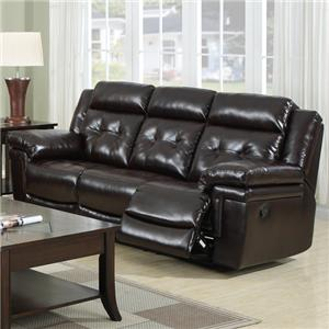 6500 Reclining Sofa by Prime Resources International