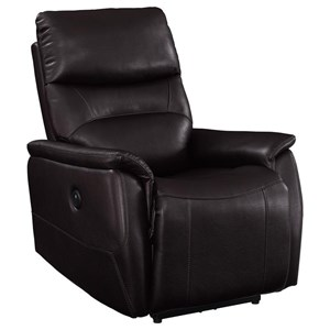 Melissa Casual Power Recliner with USB Port by Prime Resources International