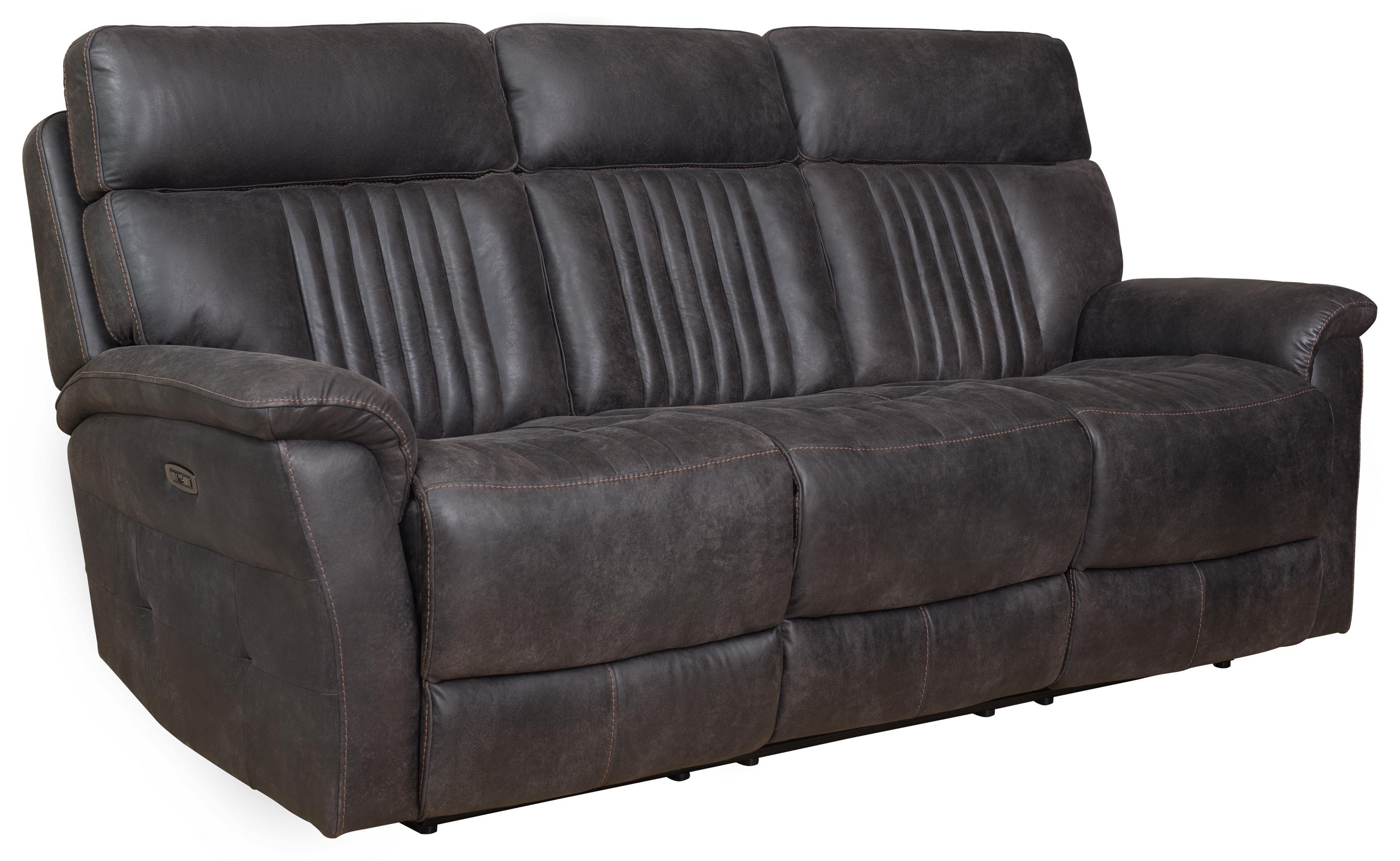 Shae Shae Power Sofa with Drop Down Table by Prime Resources International at Morris Home