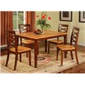 Primo International 1552 Two Tone Table & Chairs - Item Number: 1552