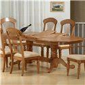 Primo International 1855 Dining Table - Item Number: DINBS 1855+DINTP1855