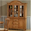 Primo International 1855 Buffet With Hutch - Item Number: DINBUF 1855+DINHUT 1855