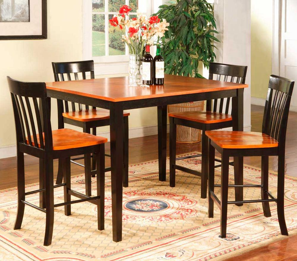 Two Tone Pub Table & Chairs