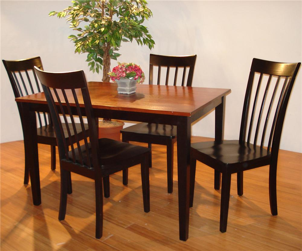 550 5 Piece Dining Room Set by Primo International at Nassau Furniture and Mattress