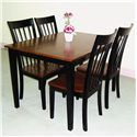 Primo International 551 Table & Chair Set - Item Number: 551 BC