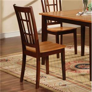Slat Back Dining Chair