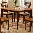 Primo International 552 Rectangular Dining Table - Item Number: 552-T Walnut