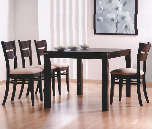 6750 Table and 4 Chairs by Primo International at Corner Furniture