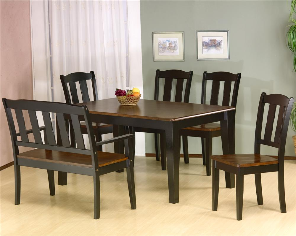 7700 Six Piece Dining Set by Primo International at Beds N Stuff