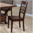 Primo International 8189 Ladder Back Side Chair - Item Number: 8189 DINCH