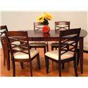 Primo International 8209 Rectangular Leg Dining Table - Item Number: 8209