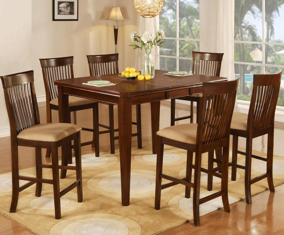 7 Piece Pub Table & Stool Set