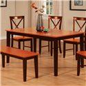 Primo International 8971 Dining Table - Item Number: 8971 DINTB