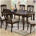 Primo International 9308 Dining Table - Item Number: 9308 DINTP-Coffee