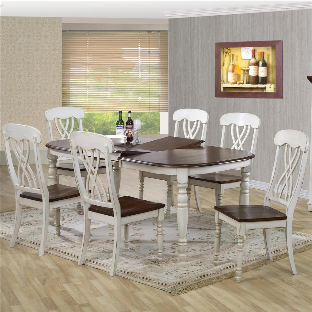 9308 Dining Table and Chair Set by Primo International at Corner Furniture
