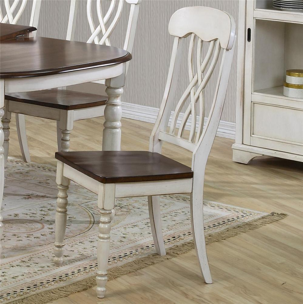 9308 Dining Side Chair by Primo International at Nassau Furniture and Mattress
