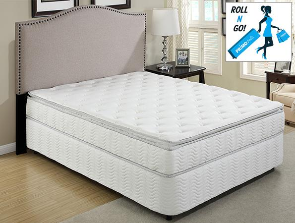 Primo International Cosmos Pillow Top Queen Sz Mattress with Foundation - Item Number: Cosmos