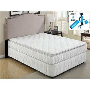 Primo International Cosmos Pillow Top Queen Sz Mattress with Foundation