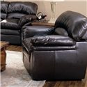 Primo International Liz Leather Chair - Item Number: CHAIR