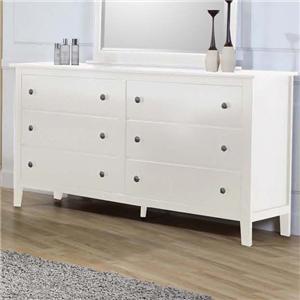 Private Reserve Millie (white) Millie (white) Dresser