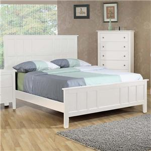 Private Reserve Millie (white) Millie (white) Queen Panel Bed
