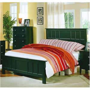 Private Reserve Millie (black) Millie (black) Queen Panel Bed