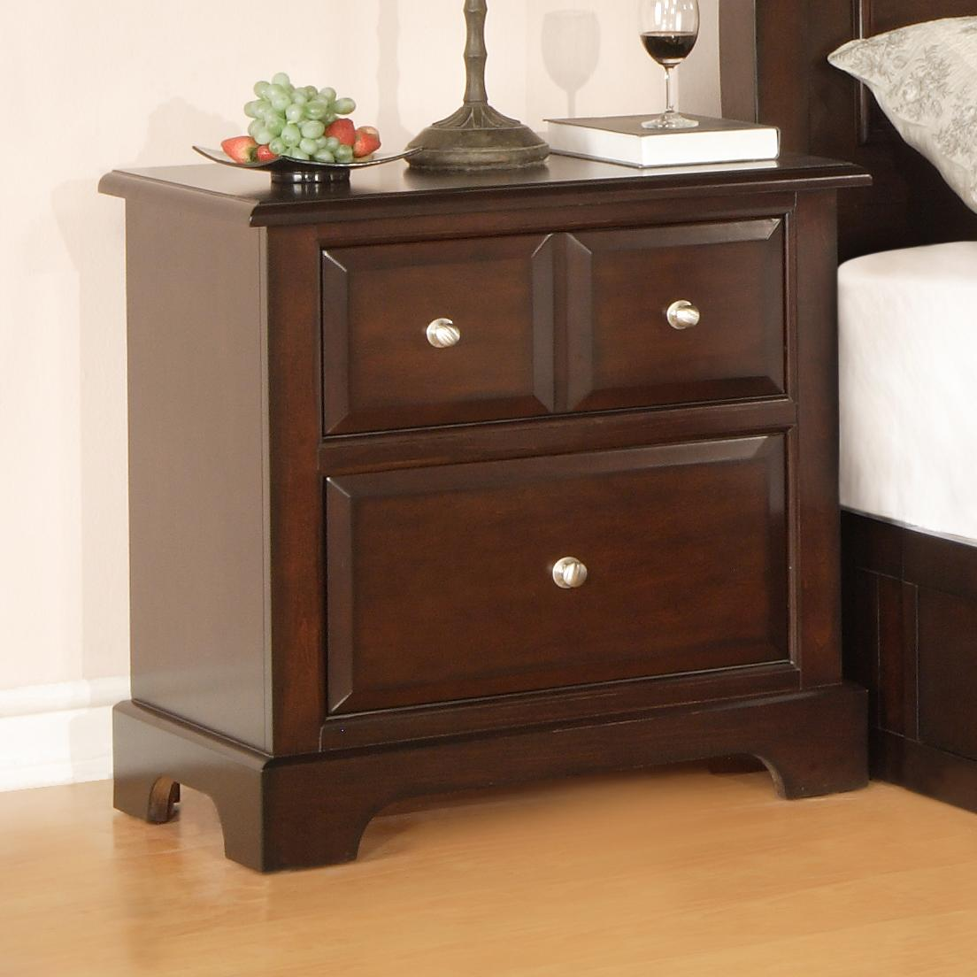 Private Reserve B121 2-Drawer Nightstand - Item Number: B121-02