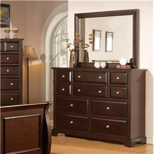 Private Reserve B121 Dresser and Mirror