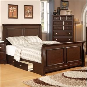 Private Reserve B121 King Sleigh Bed
