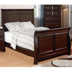 Private Reserve B121 Queen Transitional Sleigh Bed