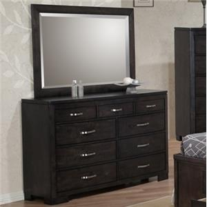 Private Reserve Dublin Dresser and Mirror