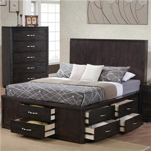 Private Reserve Dublin King Storage Bed
