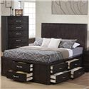 Private Reserve Dublin Queen Storage Bed - Item Number: B202-10