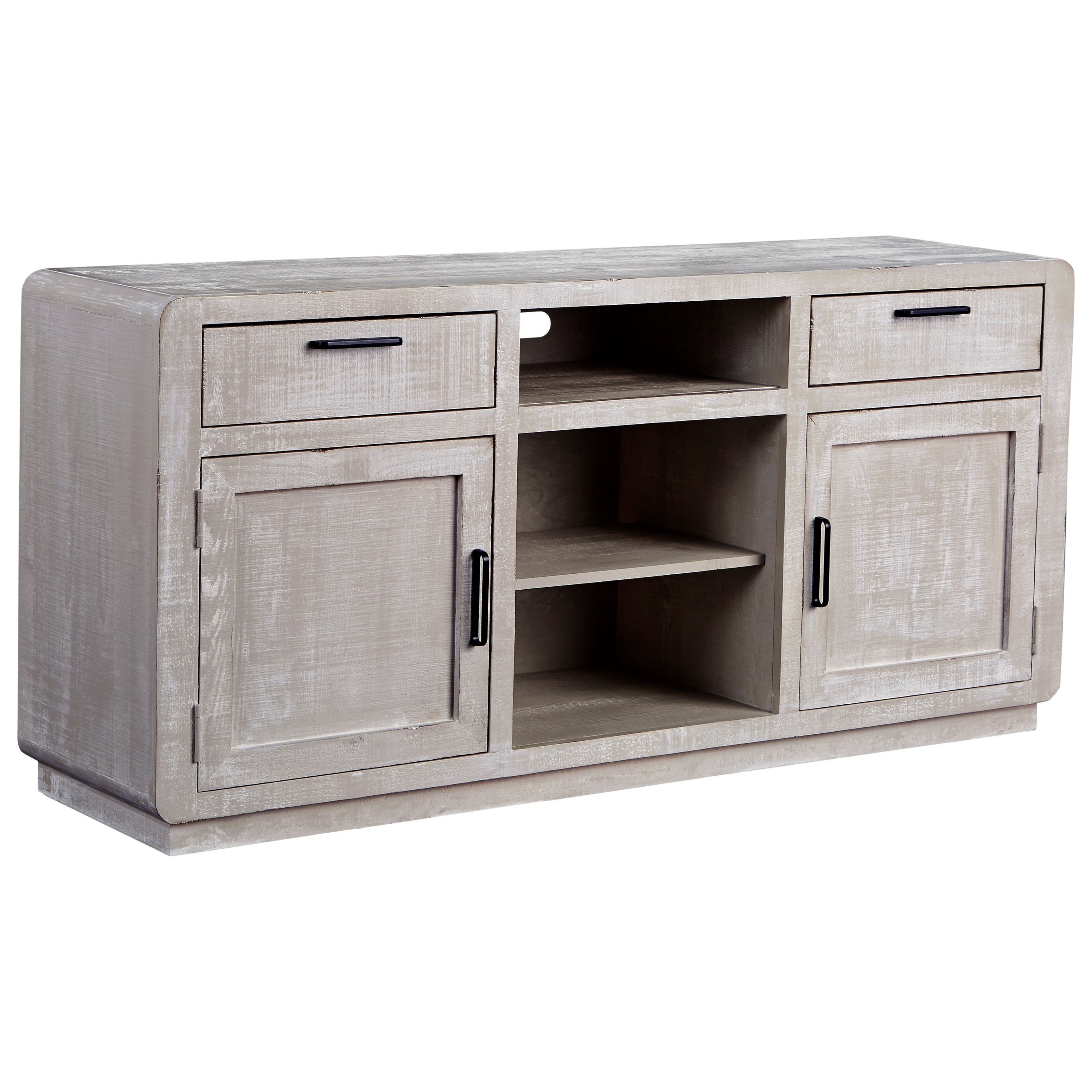 "Allure 64"" Console by Progressive Furniture at Simply Home by Lindy's"
