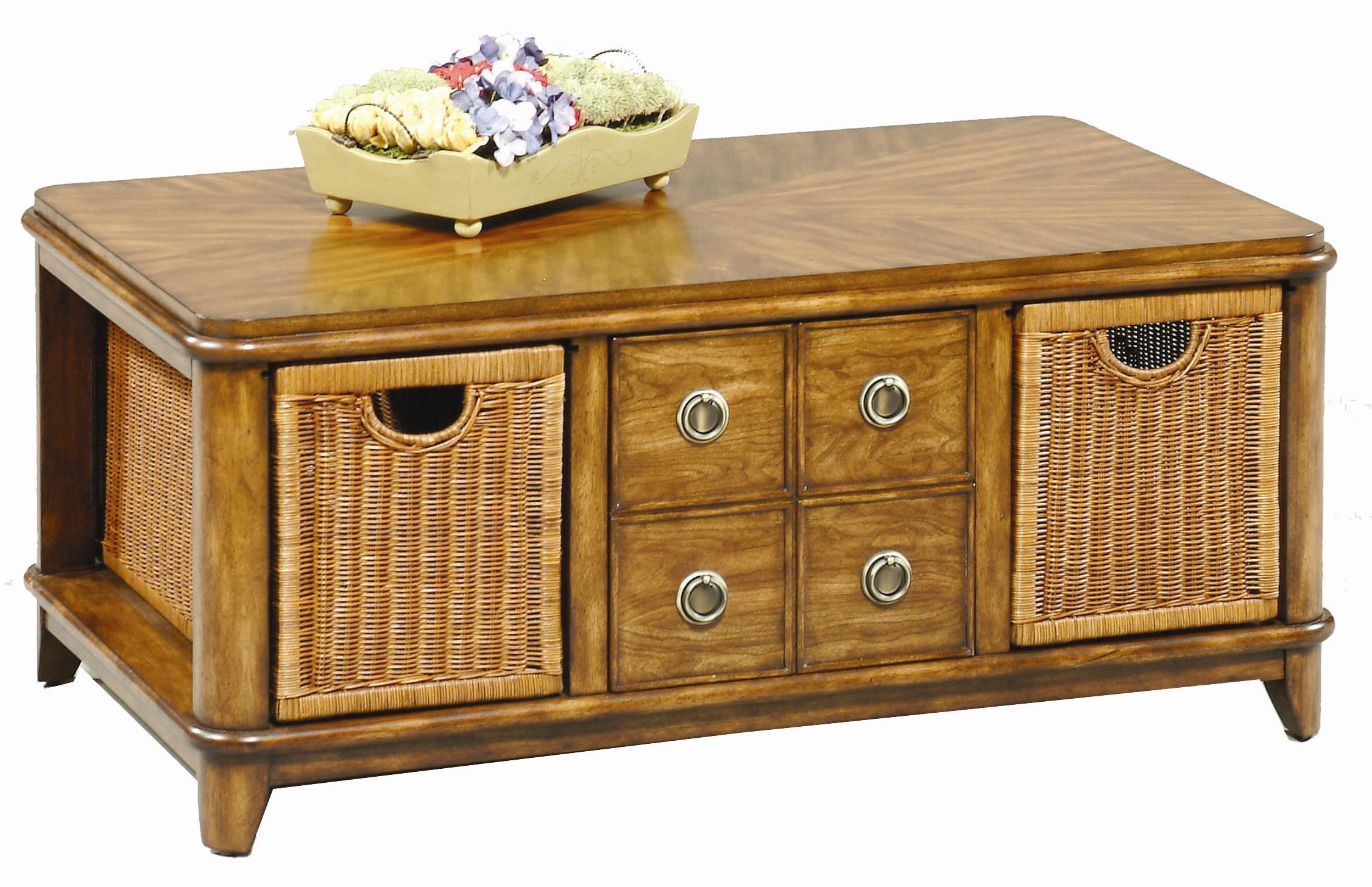 Progressive Furniture Anaronda Rectangular Cocktail Table - Item Number: 533-01