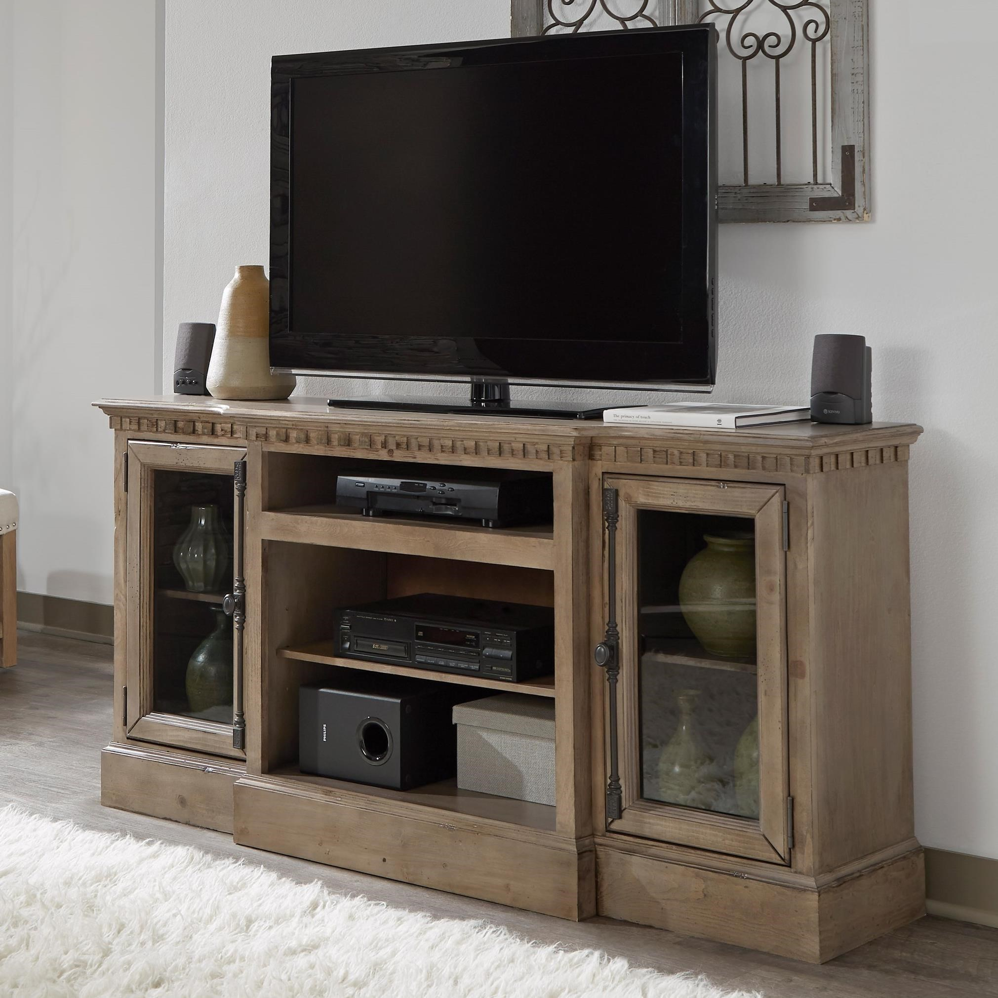 "Andover Court 64"" Console by Progressive Furniture at Van Hill Furniture"